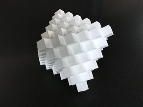 Japanese crystal puzzle