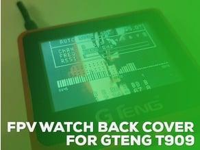 Gteng T909 Boscam Virhuck FPV Watch Back Cover