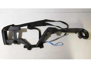 Vive Stock MK2: Adjustable length & height, sling swivels