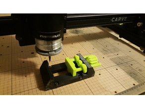 Yet ANOTHER Machine Vise Re-mixied for Xcarve