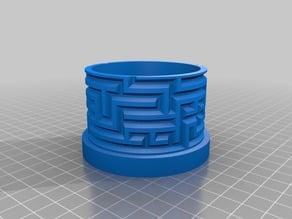 Customisable Labyrinth Cylinder Box