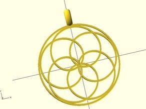 Customizable pendant