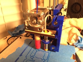 Printrbot 1405 Front end and YZ plate
