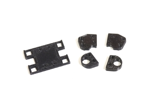 Make It RC MS01 Lower Control Arm Support and Strut Tower Parts