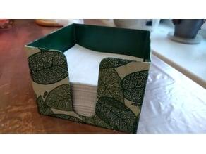napkin holder 12x12x10cm