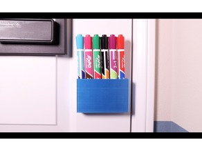 Dry Erase Marker Holder