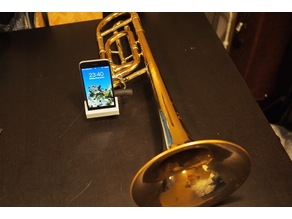 iPhone 6 trombone bell amplifier - Bach 42/50, customizable