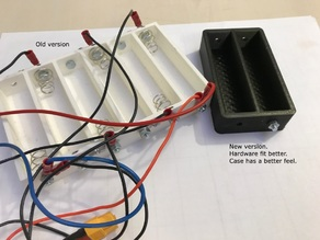 1-12 cell holder for charging 18650-cells