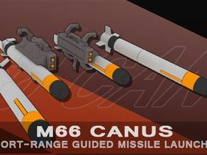 """[WS-003]  1/144 M66 """"Canus"""" Missile Launcher"""
