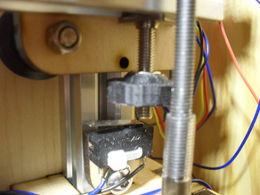very simple adjustable Z Endstop (MakerFarm Prusa i3v)