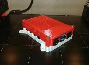 Raspberry Pi 4 case remix