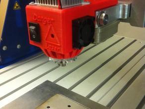 CNC Laser housing V2.2  for 12 mm diameter laser Diode