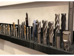 Drill Bit/End Mill Organiser