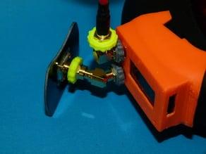 SMA spinner finger wrench for diversity receiver