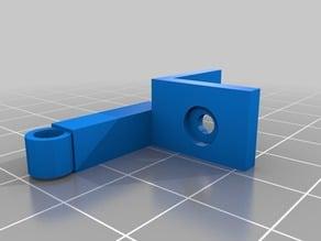 Filement guide for 15x15 kossel mini