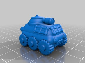 15mm Recon APC Tank #D&D #DnD #Pathfinder #Starfinder #Shadowrun #pocket-dungeons #pocket-tactics #multiverse