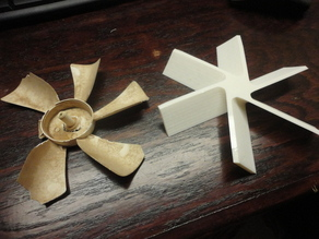 RV Vent Replacement Fan Blade