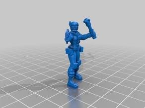 Female Space 'Dude' 7 figure set