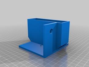 Caja de batería para robot oruga
