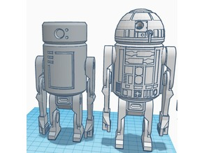 R2D2 with arms and legs!