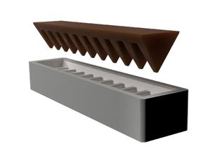 Toblerone Chocolate Mould/Mold