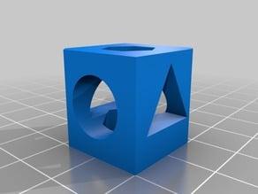 20x20 Calibration Cube (4shape)