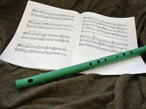 [OLD VERSION] Folk flute, alto, straight bore