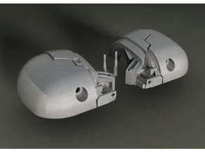 K2SO inspired Head easy to print 3d model