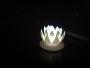 Lotus Flower Nightlight