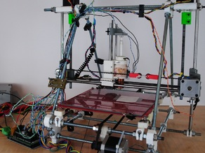 Conversion of Prusa to Wax 3-D printer