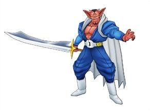 Dragonball Z Dabura Daemon Sword