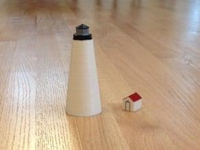 Lighthouse & shed