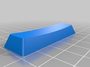 My Customized Parametric Cherry MX/Alps Keycap for Mechanical Keyboards -- 3u