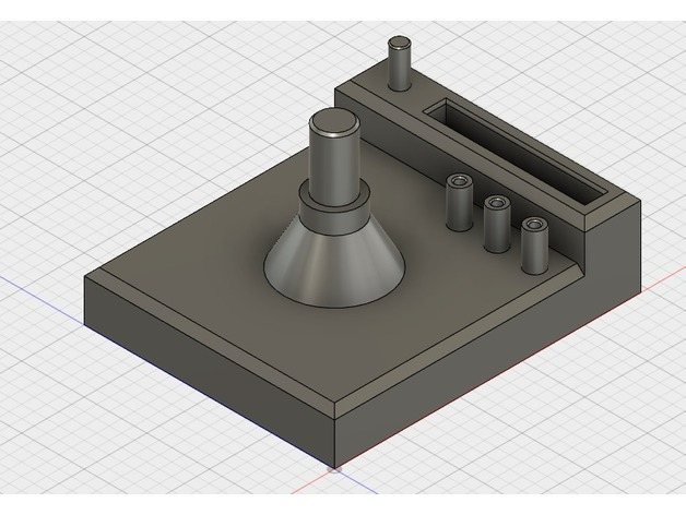 Dillon 550 Toolhead Stand by eldorin - Thingiverse