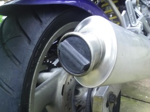 motorcycle silencer bung