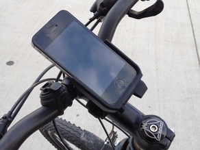 iPhone bike mount with adjustable tilt
