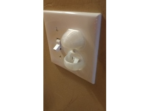 Dual Horizontal Light Switch Cover