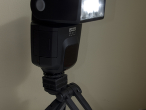 Hot Shoe Flash to Tripod Bracket