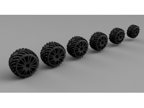 Gaslands Ice wheels
