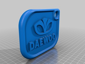 Daewoo keychain