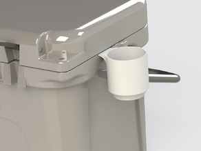 Can Holder attachment for Yeti Coolers