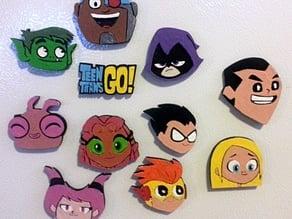 Teen Titans Go Characters