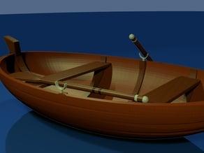 Rowing boat version 2