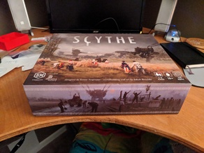 Scythe Organizer (fits all expansions and board extension)