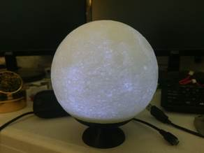 Stand for 65mm high detailed moon lamp