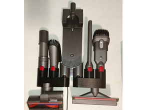 dyson v8 absolute accessory holder