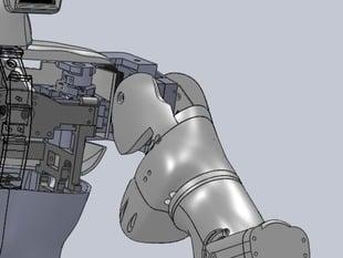 Hector Upper Robot Arm Left