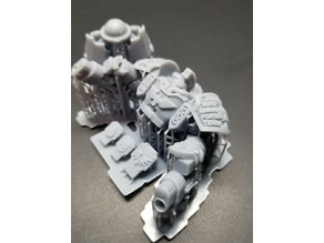 Death Watch Torso Pack for 40K Century Man - 11 Chapters