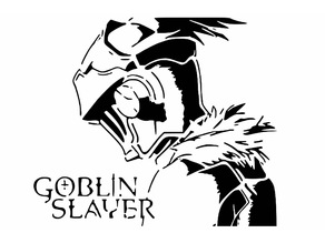 Goblin Slayer stencil