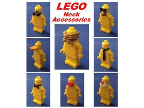 8 LEGO Neck Accessories
